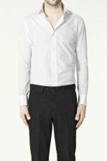 bia�a koszula ZARA - z kolekcji wiosna-lato 2011