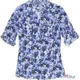 niebieska koszula C&A w ��czk� - kolekcja wiosenno/letnia