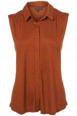 br�zowa koszula Topshop - moda 2011