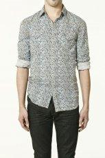 koszula ZARA we wzorki - z kolekcji wiosna-lato 2011