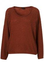 bordowa bluzka Topshop - wiosna 2011