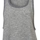 szara koszulka Topshop - moda wiosna/lato
