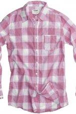 r�owa koszula Pull and Bear w kratk� - kolekcja wiosenno/letnia