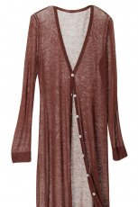 br�zowy sweter H&M - wiosna-lato 2011