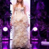 suknia w kolorze ecru Teresy Rosati- wiosna/lato 2011
