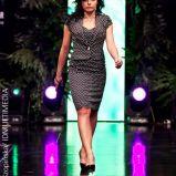 czarna sukienka w groszki Pretty One - wiosna/lato 2011