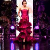 czerwona suknia wieczorowa Teresy Rosati - wiosna/lato 2011