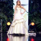 ecru suknia �lubna Fulara&�ywczyk - wiosna/lato 2011