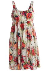 sukienka Kappahl w kwiaty - kolekcja na lato