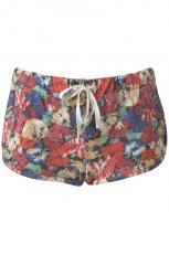 kolorowe szorty Topshop w kwiaty - kolekcja na lato
