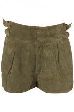 khaki szorty Topshop - letnia kolekcja