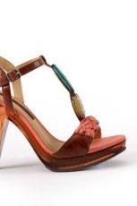 br�zowe sanda�y Badura - moda 2011