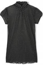 czarna bluzka Reserved w groszki - kolekcja wiosenno/letnia