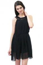czarna sukienka Novamoda - wiosna-lato 2011