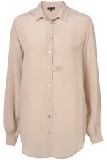 be�owa koszula Topshop - trendy wiosna-lato