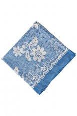 niebieski Pretty Girl w kwiaty - kolekcja na lato