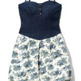 sukienka Reserved w kwiaty - lato 2011