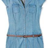 niebieska szmizjerka Reserved - moda 2011