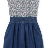 sukienka Reserved w ��czk� d�insowa - kolekcja na lato