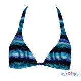 niebieskie bikini Esotiq we wzory - kolekcja letnia