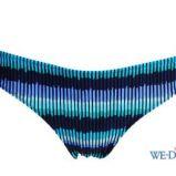 niebieskie bikini Esotiq we wzory - moda 2011