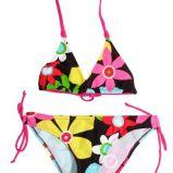 kolorowe bikini Esotiq w kwiaty - lato 2011