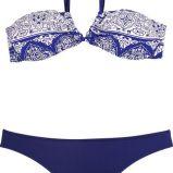 granatowe bikini She we wzorki - lato 2011