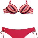 czerwone bikini She w paski - lato 2011
