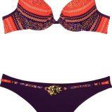 pomara�czowe bikini She we wzorki - lato 2011