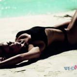czarny str�j k�pielowy Vero Moda - lato 2011