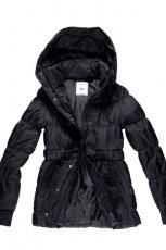 czarna kurtka Big Star z futerkiem - jesie�/zima 2011/2012