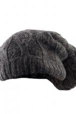 popielaty beret Big Star - sezon jesienno-zimowy