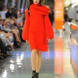 czerwona sukienka Simple - kolekcja zimowa