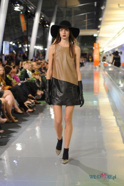 sukienka Simple ze sk�ry - jesie�/zima 2011/2012