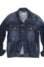 niebieska kurtka Big Star z guzikami d�insowa - moda jesienna