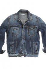 niebieska kurtka Big Star z guzikami d�insowa - jesie�/zima 2011/2012