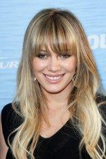 Hilary Duff - Fryzury z grzywk�