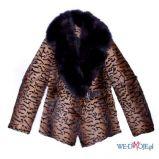 br�zowy p�aszcz Aryton w geparda - jesie�/zima 2011/2012