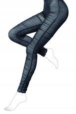 czarne legginsy Calzedonia - trendy na jesie�-zim�