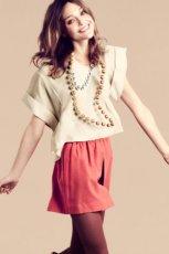 ecru bluzka H&M - jesie� 2011