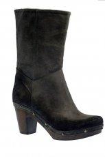 czarne botki Gino Rossi - kolekcja zimowa
