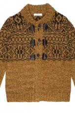 br�zowy sweter C&A rozpinany - z kolekcji jesie�-zima