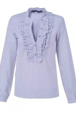 b��kitna bluzka Top Secret z �abotem - trendy na jesie�-zim�
