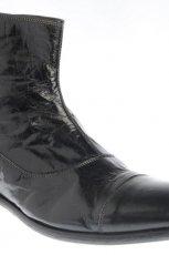 czarne sztyblety Gino Rossi - jesie�/zima