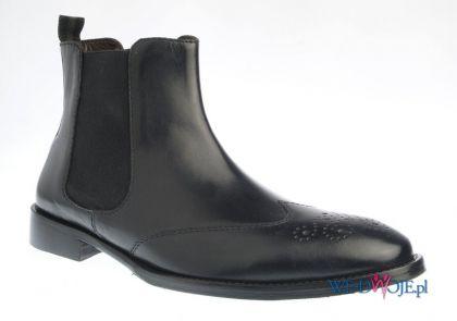 czarne sztyblety Gino Rossi - zima 2011/2012