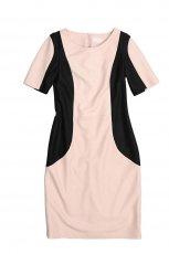 ecru sukienka Bialcon - trendy na jesie�-zim�