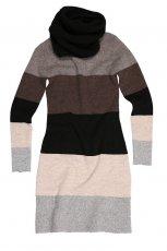 sweter Bialcon w pasy d�ugie - jesie�/zima 2011/2012