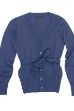 granatowy sweter Bialcon rozpinana - moda 2011/2012