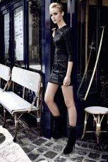 czarne botki CCC - moda jesienna