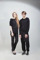 czarna bluzka - jesie�/zima 2011/2012
